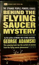 Behind The Flying Saucer Mystery UFO Secret Conspiracy Exposed! 1st Print 1967