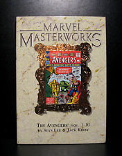 COMICS: Marvel Masterworks: The Avengers #1-10 hardcover - RARE (vintage/figure)