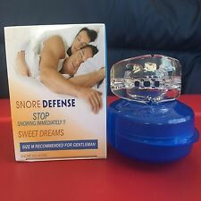 Stop Snoring MouthPiece Sleep Apnea Night Aid Anti Snore Pure Guard Aid BOX