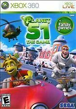 Planet 51: The Game USED SEALED (Microsoft Xbox 360, 2009)