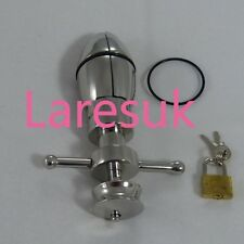 AN-02 Anal Ass lock with padlock & 2 O-rings FREE UK DELIVERY