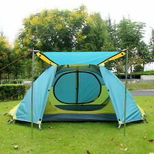 2 Person Professional Double layer Outdoor Waterproof Backpack Camping Tent