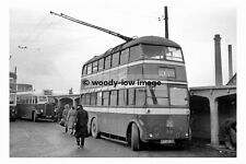 pt8955 - Doncaster Trollybus no 343 at North Bridge Terminus - photograph 6x4