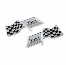 G405 FOR NISMO FLAG SIDE EMBLEM DECAL BADGE STICKER 2X