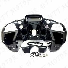 Inner ABS Front Fairing w/ glove For Harley Road Glide 1998-2013 FLTR