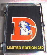 Denver Broncos Throwback Old D Logo Limited Edition of 250 Collector Pin