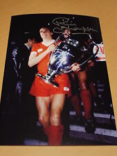 Phil Thompson Signed 12x8 Liverpool FC Photo - Proof - Private Signing