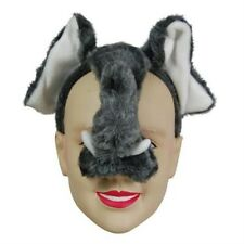Elephant Face Mask Animal Fancy Dress Costume With Sound Effect FX P983