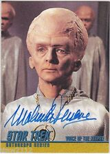 STAR TREK THE ORIGINAL SERIES 40TH ANNIVERSARY A125 MALACHI THRONE AUTOGRAPH