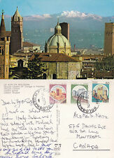 1980's THE ALPS FROM BOLOGNA ITALY COLOUR POSTCARD