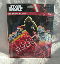 Star Wars Episode VII 2016 Standee Calendar ~ NEW