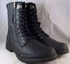 NEW MEN'S ROADRASH BY DURANGO BOOT (DDB0060) MOTO BLACK LEATHER 10 MEDIUM $180