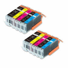 10 Pack PGI-250 XL CLI-251 XL Ink Cartridges For Canon PIXMA MX722 MX922 Printer