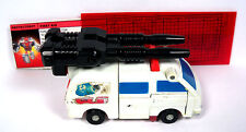 Vintage G1 Transformers - 1986 FIRST AID w/ Double Cannon  Metal Chest  Combiner