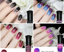4Pcs/Set Color Changing Nail Polish Thermal Temperature Peel Off Varnish 6ml