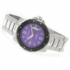 Android AD683 Pioneer Automatic Stainless Steel Bracelet Watch w/ 3-Slot Case
