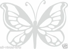 frosted etched glass vinyl butterfly stickers for shower screens windows & walls