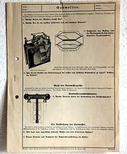 Werbe Prospekt - GASMESSER, Messgeräte