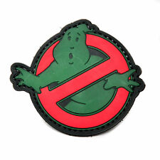 Ghostbusters Glow In The Dark PVC Morale Patch Badge Insignia Cosplay Costumes