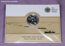 2014 ROYAL MINT SILVER £20 COIN - 1914-18 GREAT WAR ANNIVERSARY - MINT SEALED