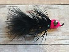 6 Egg Sucking Leech Silver Salmon Fly Fishing Alaska Flies Assortment Streamer