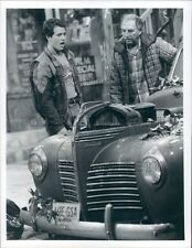 1986 Raphael Sbarge Bill Macy Better Days 1980s TV Old Plymouth Press Photo