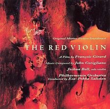 NEW CD: THE RED VIOLIN: SOUNDTRACK: HOLE IN BAR CODE.