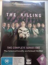 THE KILLING - Complete Series 1 6 x DVD SBS All Region PAL AS NEW! Season One