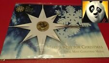 SCARCE Royal Mint Dove of Peace Christmas Coin Medal Medallion Unc Sealed Pack