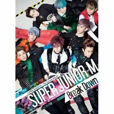 SUPER JUNIOR M - 2ND ALBUM [ BREAK DOWN] ~ US SELLER