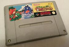 SUPER Mario World 2 YOSHI'S ISLAND SNES NINTENDO GAME-SUPER PAL A VERSIONE UKV