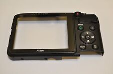 Nikon L810 Rear Back Cover With Window Glass and Button Replacement DH1056