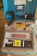 Battery Powered Portable Digital Load Cell Meter  Zero Case Calibrated thru 5/14