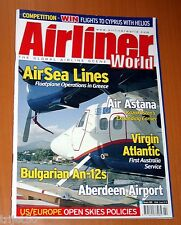 Airliner World 2005 February AirSea Lines,An-12,Air Astana