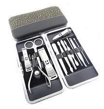 BUAU 12 In 1 Pedicure Nipper Cutter Nail Clipper Stainless Manicure Set Kit