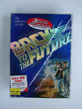 RARE W/PROMO STOP WATCH SEALED BACK TO THE FUTURE 3 DISC TRILOGY DVD SET