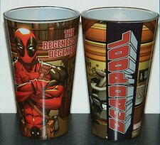 Marvel Comics Deadpool The Regenerating Degenerate 16 Oz Illustrated Pint Glass
