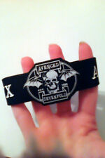 Avenged Sevenfold rubber bracelet - skull and A7X design