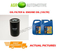PETROL OIL FILTER + FS PD 5W40 OIL FOR LAND ROVER DISCOVERY 4.0 182BHP 1993-98