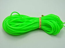 10 Meter Green 2mm Soft Hollow Rubber Tubing Jewelry Cord Cover Memory Wire