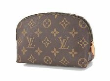 Authentic LOUIS VUITTON Monogram Cosmetics Pouch Bag #24579A