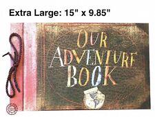 X-Large Our Adventure Book DIY Scrapbook/Photo Album, 15 x 9.85 In