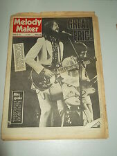 MELODY MAKER 1973 JANUARY 20 ERIC CLAPTON MILES DAVIS NEIL YOUNG