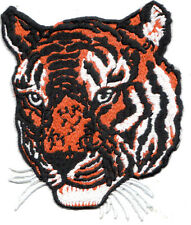 Embroidery Patch: Small Tiger Head (Looking Left)