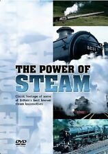 The Power Of Steam New DVD Railway Locomotive engines Trains