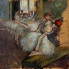 Metal Sign Ballet Dancers Circa 1895 1900 National Gallery London England Oil On