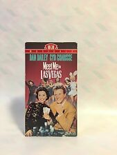 MGM MEET ME IN LAS VEGAS VHS TAPE! GOOD CONDITION! RARE MOVIE!!