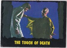 OUTER LIMITS 1964 TOPPS (BUBBLES, INC) VINTAGE CARD #40 THE TOUCH OF DEATH