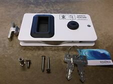 NEW SOUTHCO MOBELLA MARINE BOAT SEALED FLUSH MOUNT SLIDING DOOR LOCKING LATCH