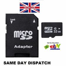 32GB Micro SD Card Class 10 Flash Memory SDHC NEXT DAY DELIVERY Upgraded 32G NEW